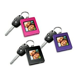 the sharper image Other - Sharper Image Photo Keychain